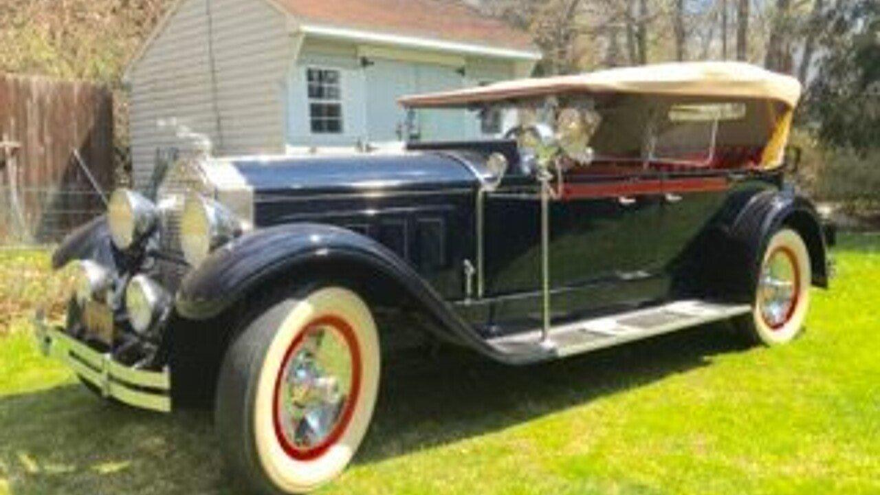 1929 Packard Model 640 for sale near Wilkes Barre, Pennsylvania ...