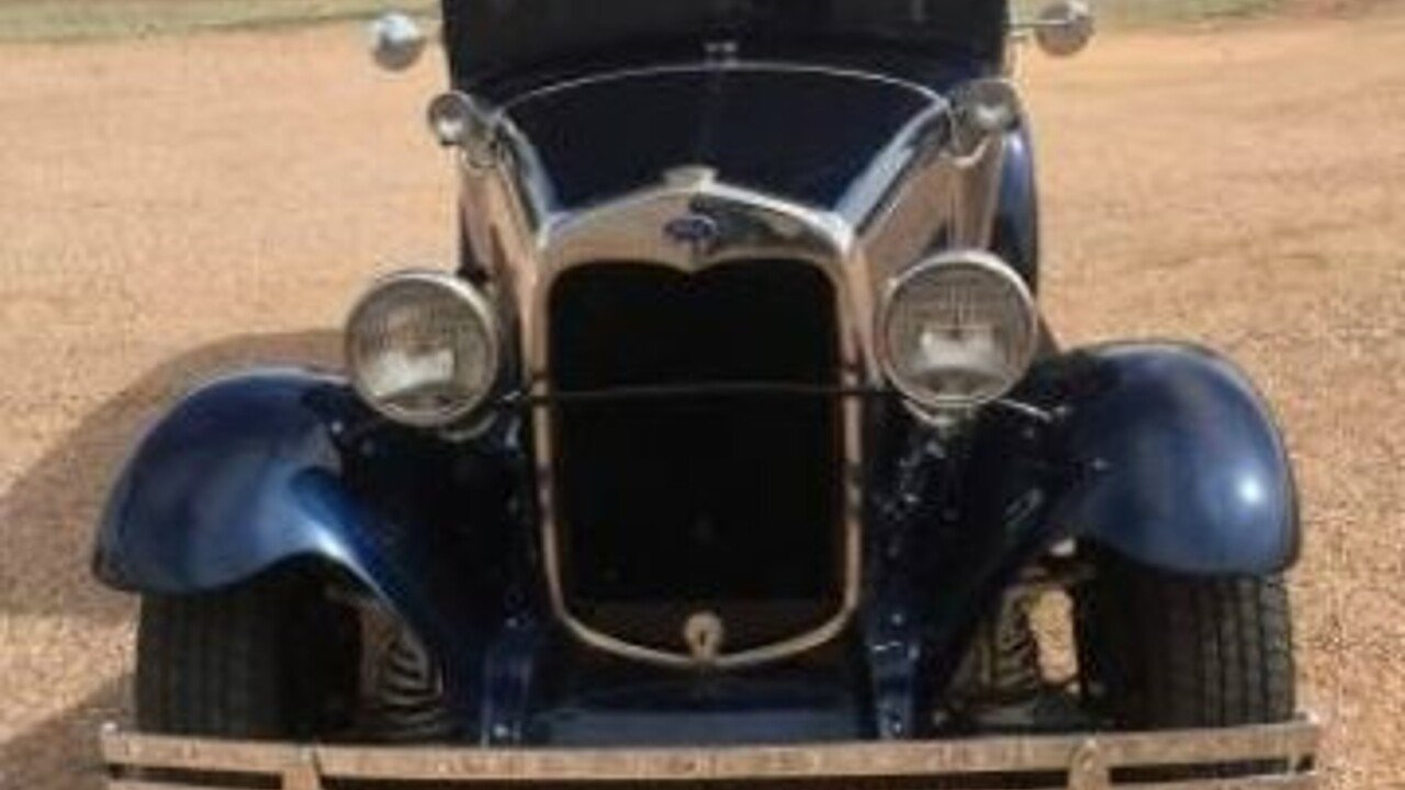 1930 Ford Model A For Sale Near Cadillac Michigan 49601 Classics Chevy Sedan Spare Tire Mount 100867020