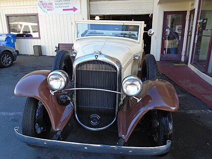 1931 Plymouth Custom for sale 100919357