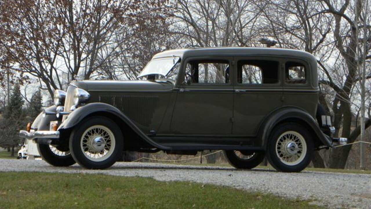 1933 Plymouth Model PD for sale 100929360