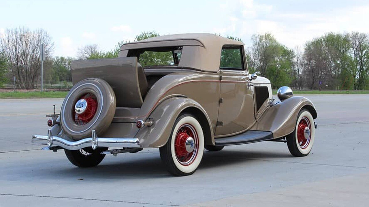 1934 Ford Custom for sale near Merrill, Iowa 51038 - Classics on ...