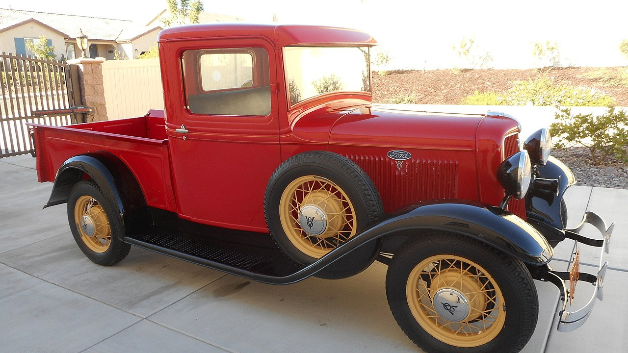 1934 ford pickup for sale near moreno valley california. Black Bedroom Furniture Sets. Home Design Ideas