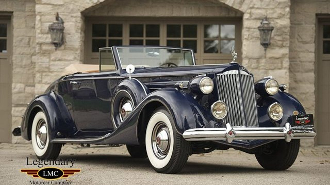 1937 Packard Twelve for sale near Youngstown, New York 14174 ...