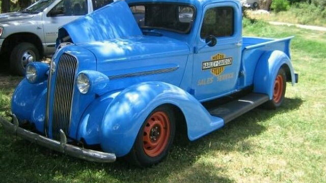 1937 plymouth pt trucks for sale near cadillac michigan 49601 classics on autotrader. Black Bedroom Furniture Sets. Home Design Ideas