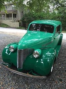1939 Chevrolet Other Chevrolet Models for sale 100988218