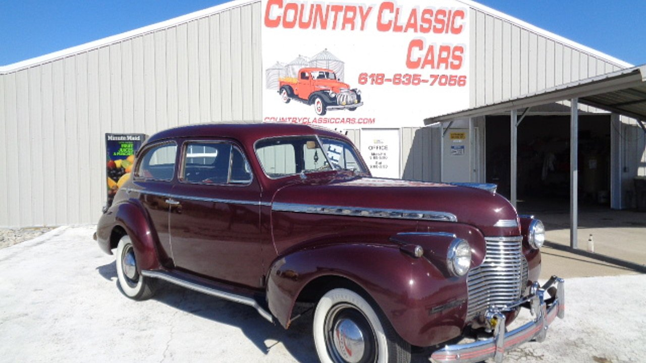 1940 Chevrolet Special Deluxe for sale near Staunton, Illinois 62088 ...