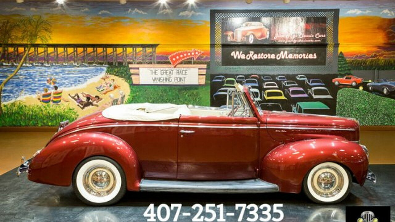 1940 Ford Deluxe for sale 100890119