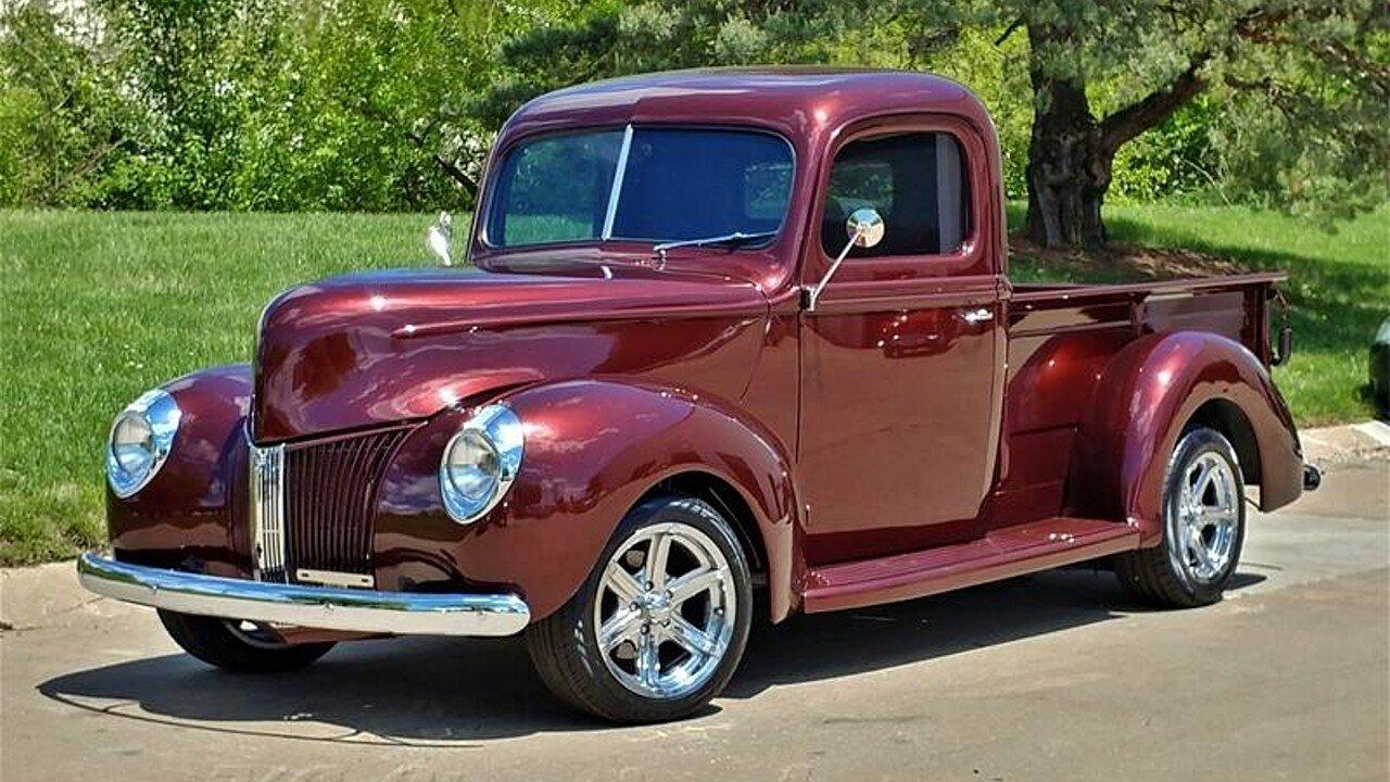 1940 Ford Pickup for sale near Lenexa, Kansas 66219 - Classics on ...