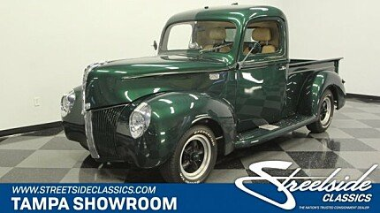 1940 Ford Pickup Classics for Sale - Classics on Autotrader