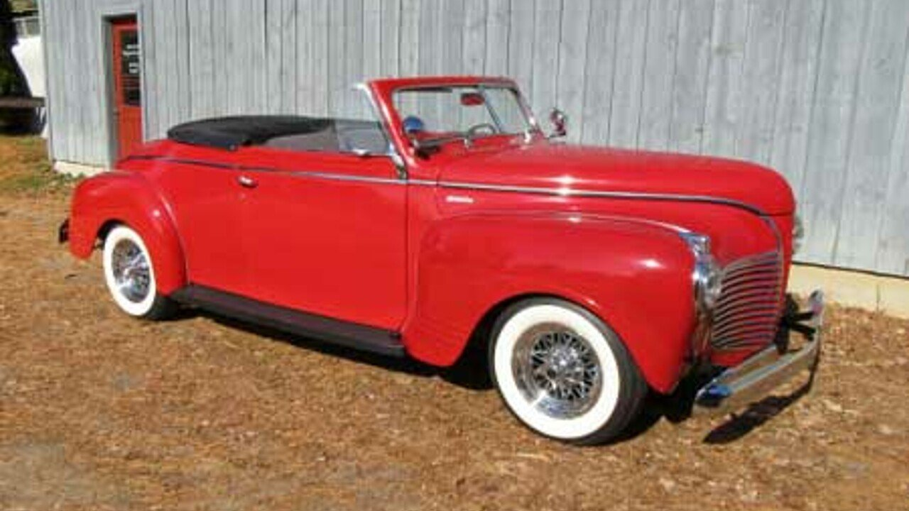 1941 Plymouth Special Deluxe For Sale Near Freeport Maine 04032 100740878