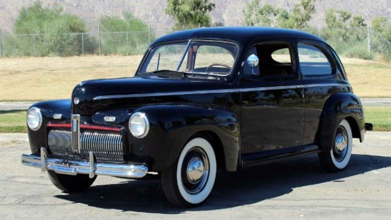 1942 ford deluxe for sale near palm springs california for Ford palm springs motors