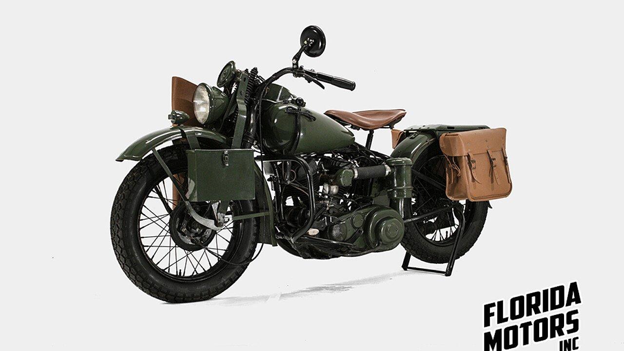 1942 Harley-Davidson WLA for sale near Miami, Florida 33179 ...