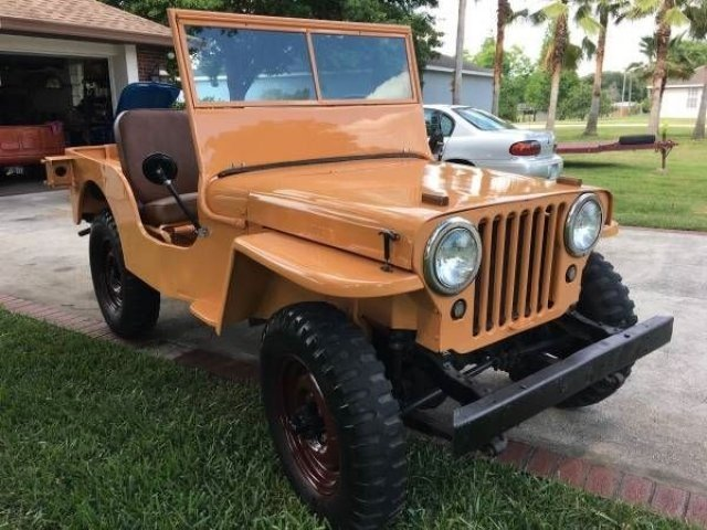 Jeep Willys For Sale >> Willys Cj 2a Classics For Sale Classics On Autotrader