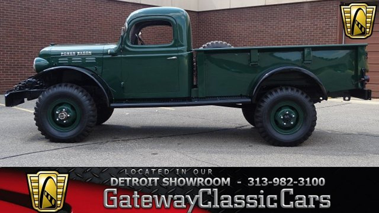 1946 Dodge Power Wagon For Sale Near O Fallon Illinois 62269 1949 Pickup Trucks 100963907