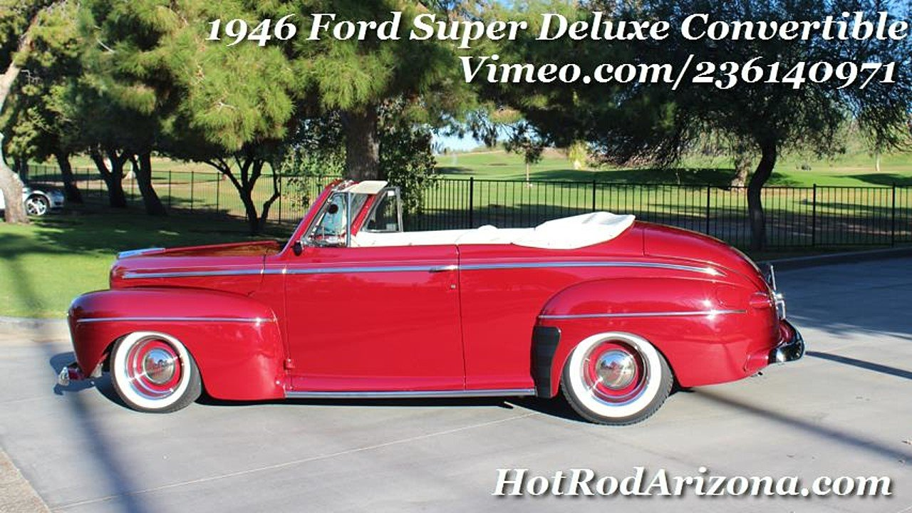 1946 Ford Super Deluxe for sale near Lake Havasu CIty, Arizona 86406 ...