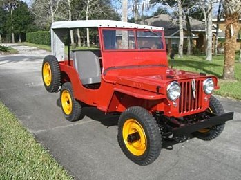 1946 Jeep CJ-2A for sale 100823402
