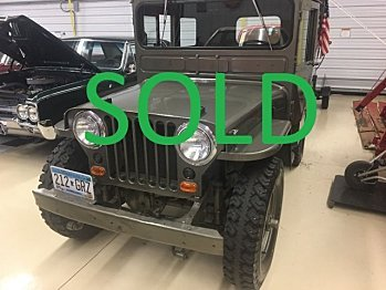 1946 Willys CJ-2A for sale 100860322