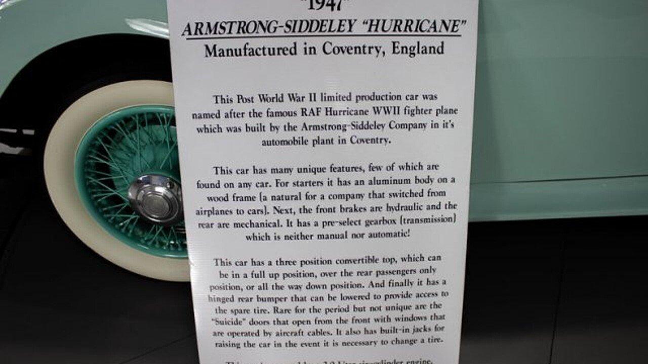 1947 Armstrong-Siddeley Hurricane for sale near Palmetto, Florida ...