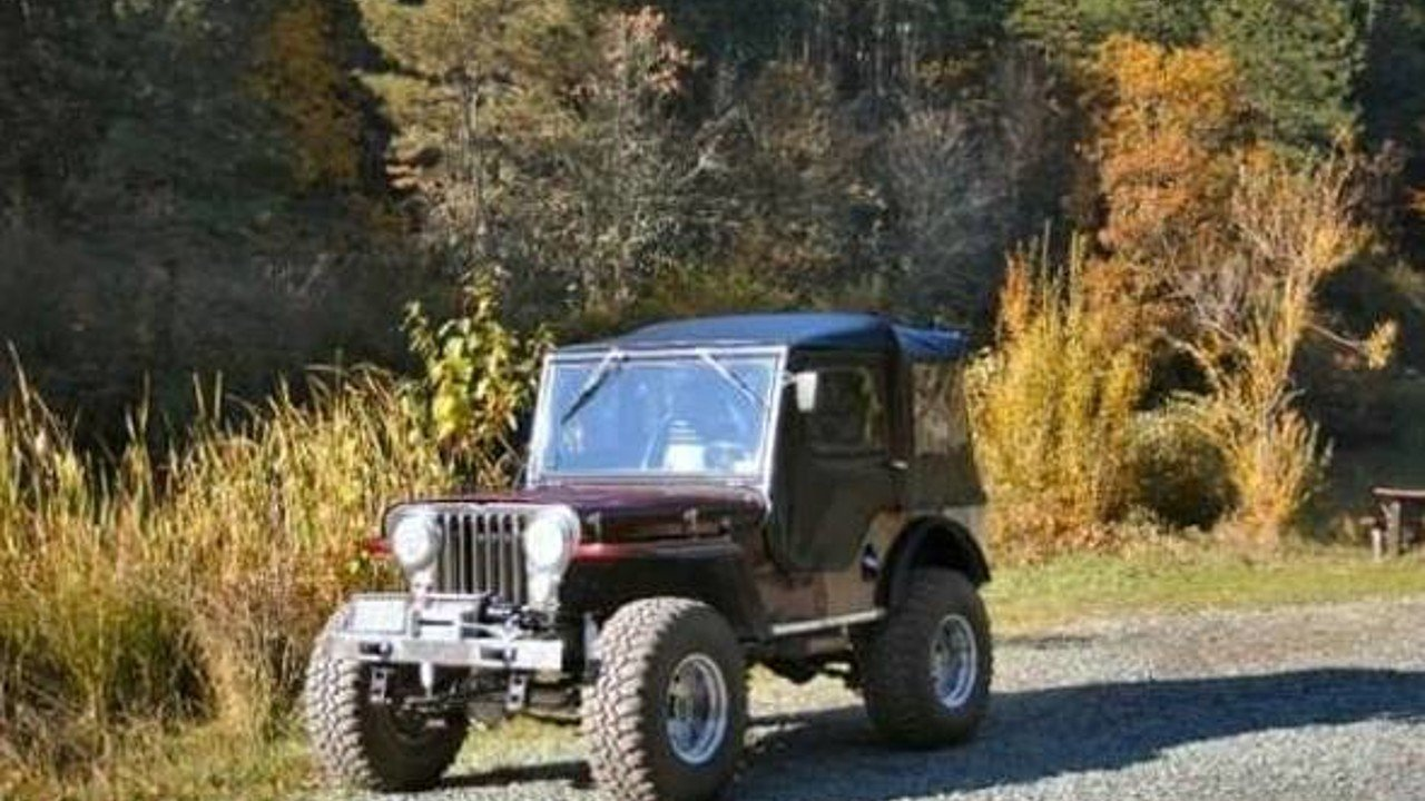 1947 Willys CJ-2A for sale 100855518
