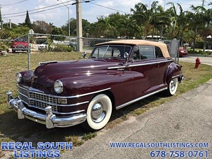 1948 Chrysler Windsor for sale 100740299
