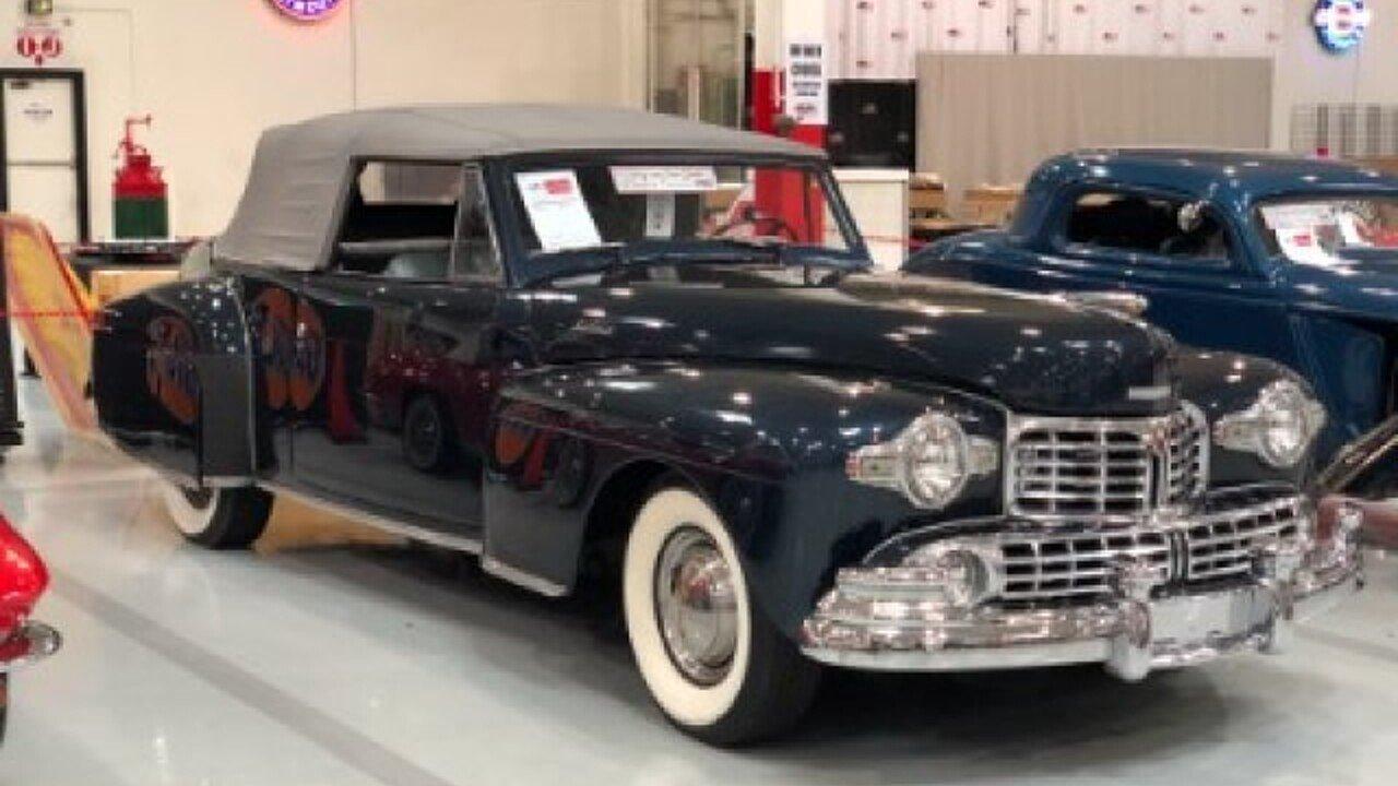 1948 Lincoln Continental for sale near Mundelein, Illinois 60060 ...