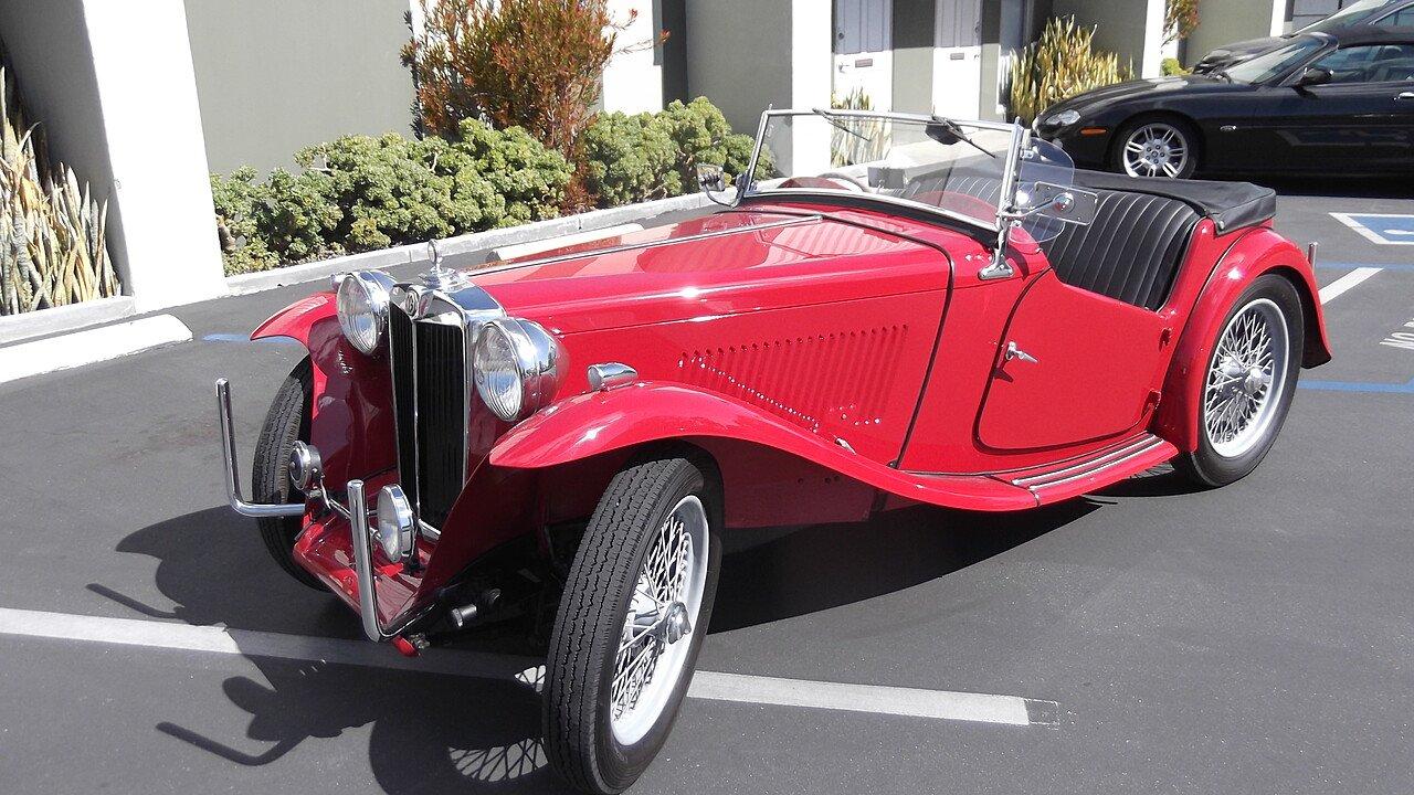 1949 MG TC for sale near Costa Mesa, California 92627 - Classics on ...