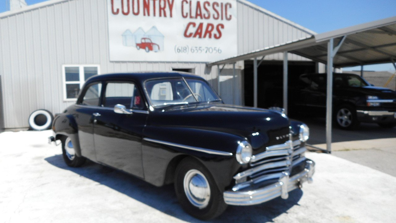 1949 Plymouth Other Plymouth Models for sale near Staunton, Illinois ...
