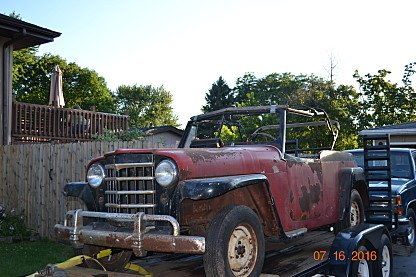 1949 Willys Jeepster for sale 100776778