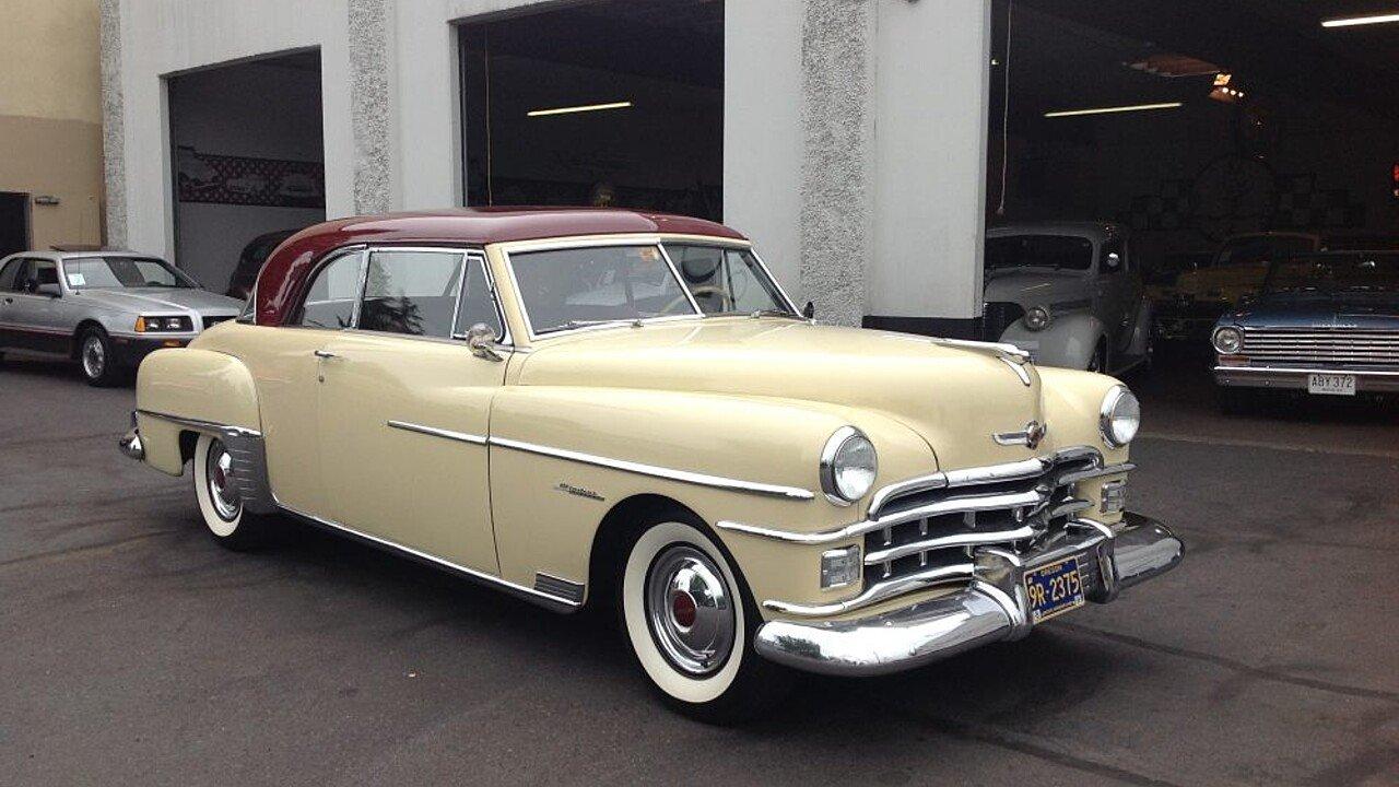 1950 Chrysler Windsor for sale near Portland, Oregon 97202 ...