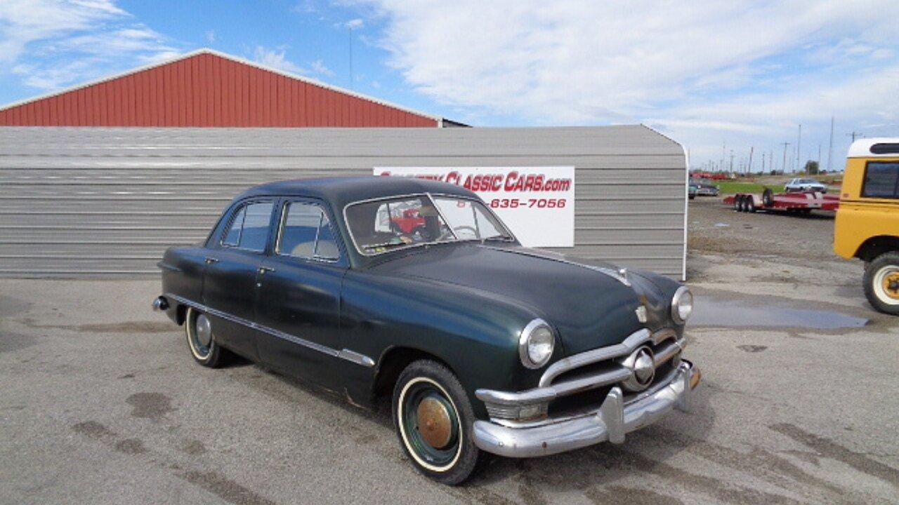 1950 Ford Custom for sale near Staunton, Illinois 62088 - Classics ...