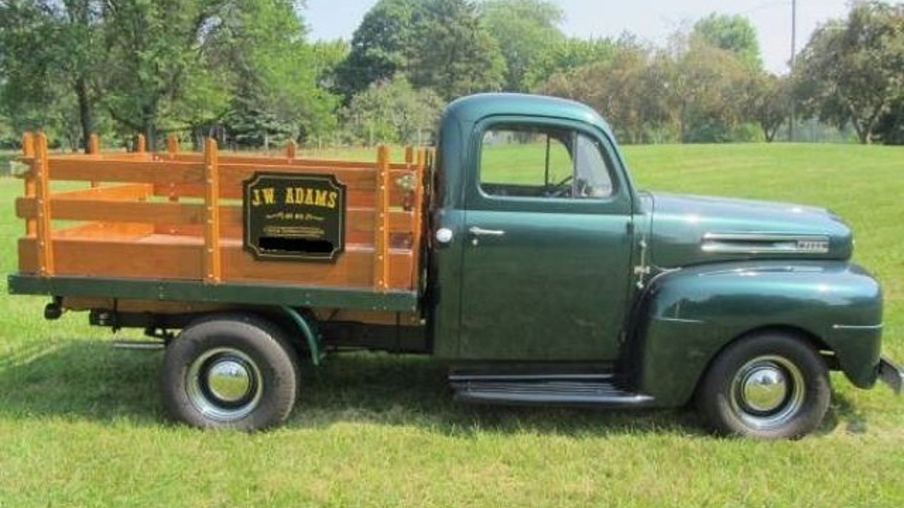 1950 Ford F1 Classics For Sale On Autotrader 1949 Coe Truck 100885116