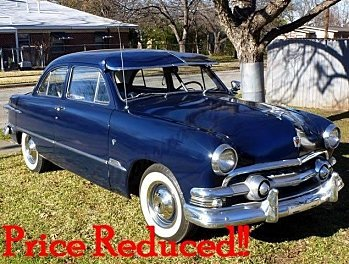 1951 Ford Deluxe for sale 100831529