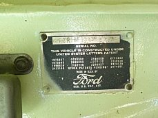 1951 Ford F3 for sale 100832467