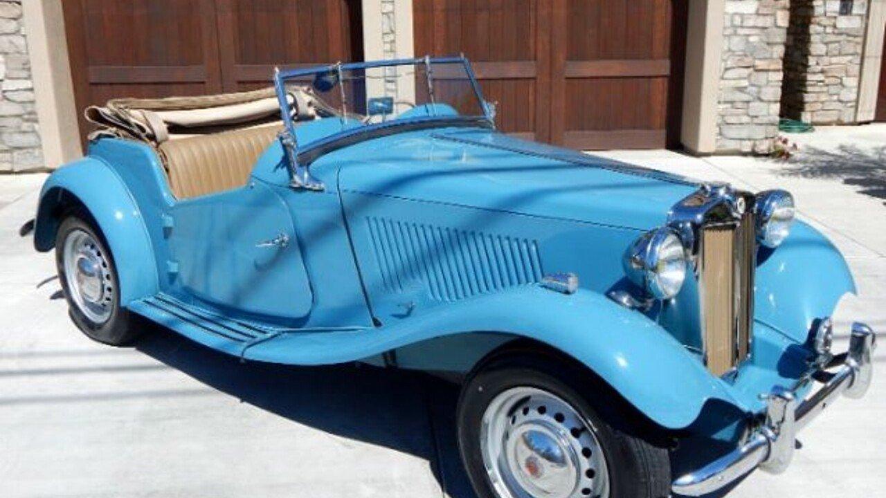 1951 MG MG-TD for sale near Cadillac, Michigan 49601 - Classics on ...
