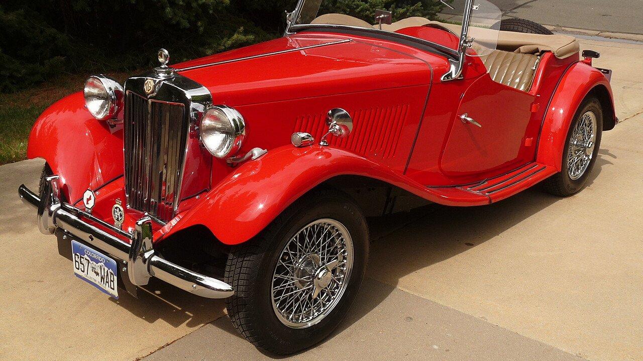 1951 MG MG-TD for sale near Lakewood, Colorado 80228 - Classics on ...