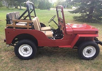 1951 Willys CJ-3A for sale 100795040