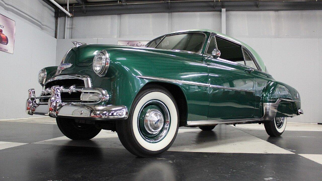 1952 Chevrolet Bel Air for sale near Lillington, North Carolina ...