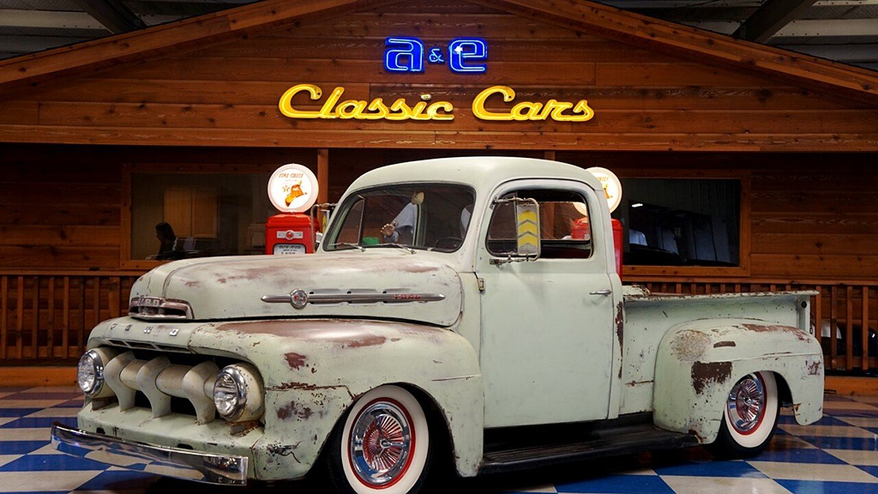 1952 Ford F1 for sale near New Braunfels, Texas 78132 - Classics on ...