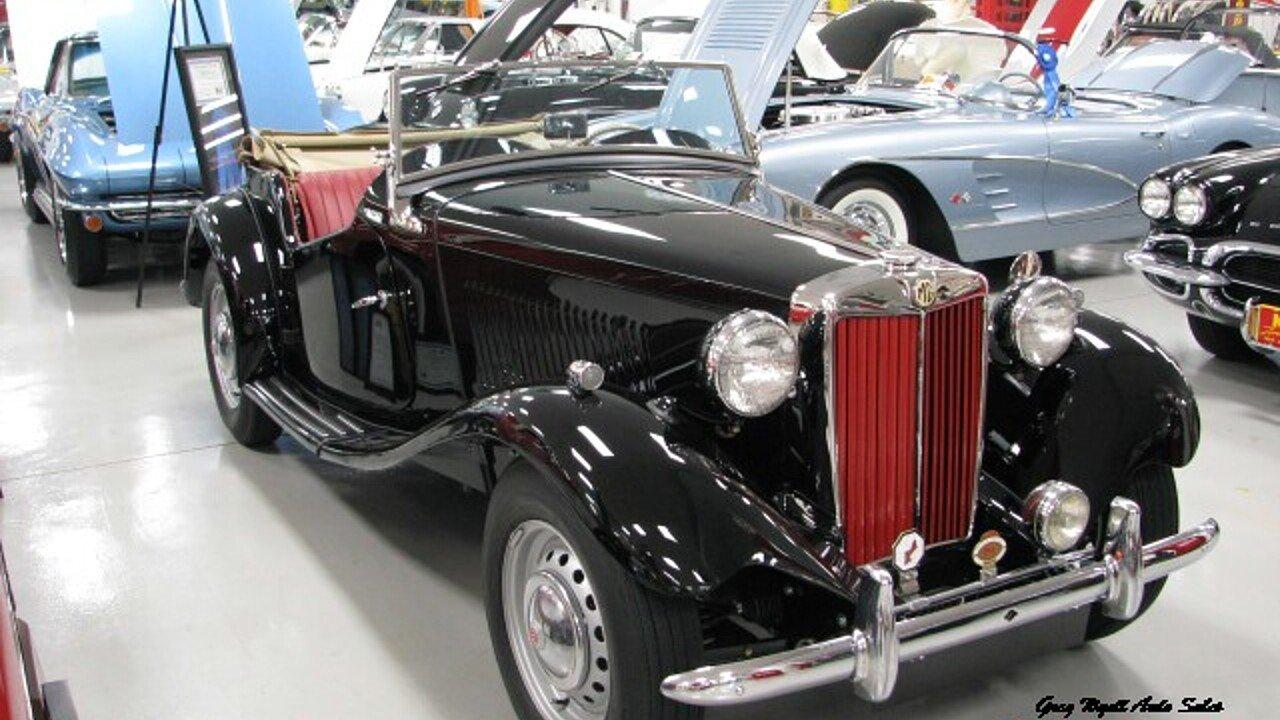 1952 MG MG-TD for sale near SUMMERVILLE, Georgia 30747 - Classics on ...