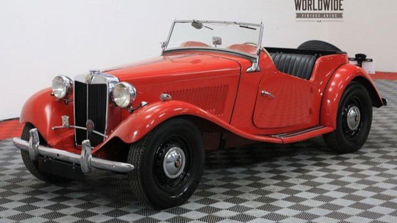 1952 MG MG-TD for sale near Denver, Colorado 80205 - Classics on ...