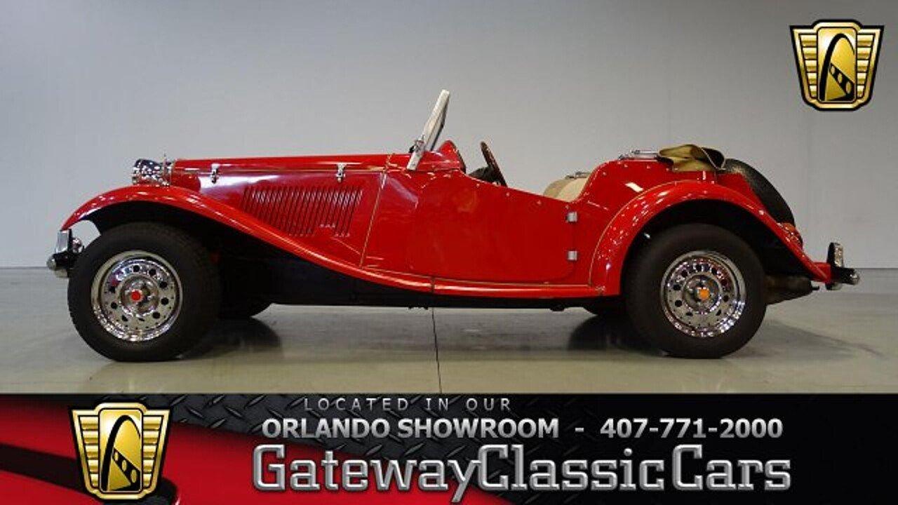 1952 MG MG-TD for sale near O Fallon, Illinois 62269 - Classics on ...