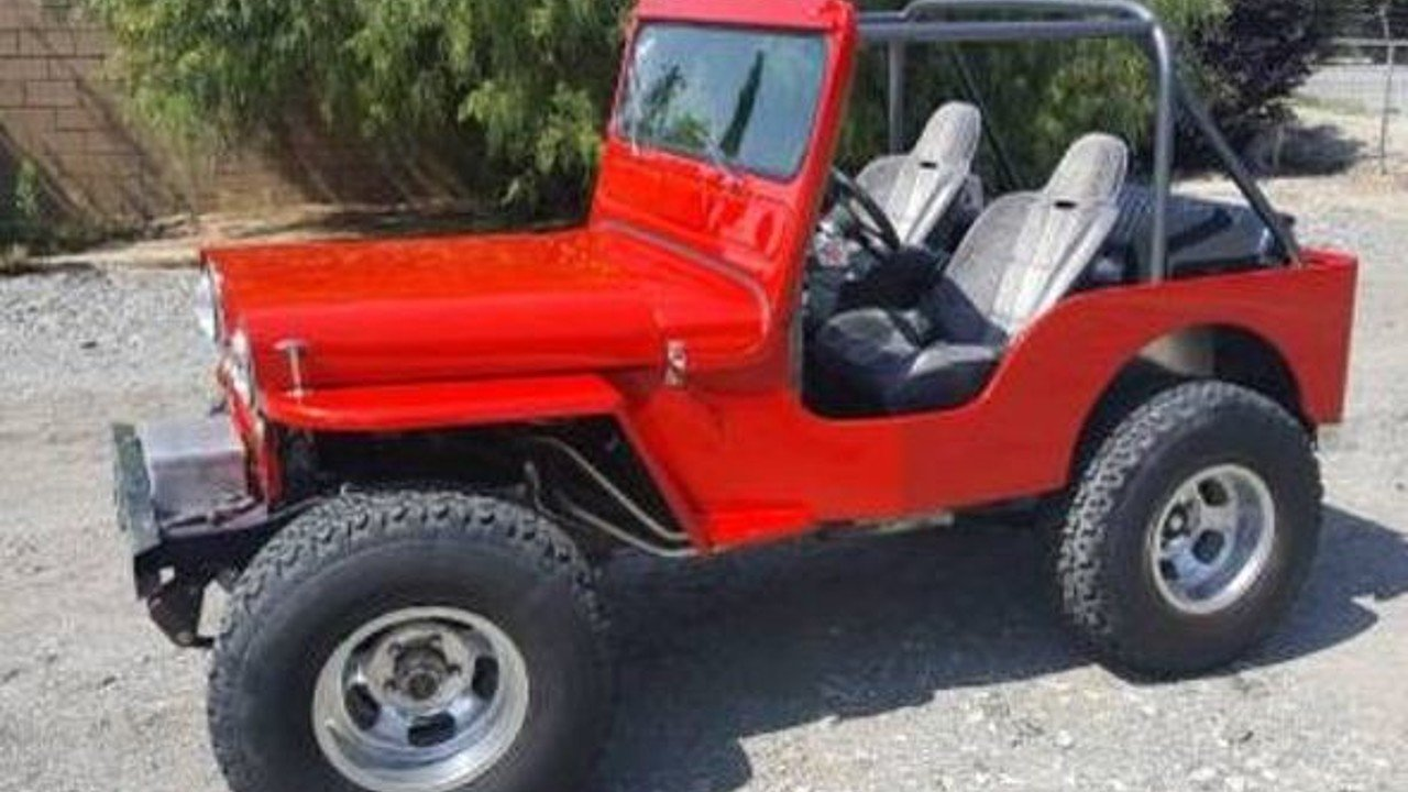 1952 Willys Other Willys Models for sale 100812375