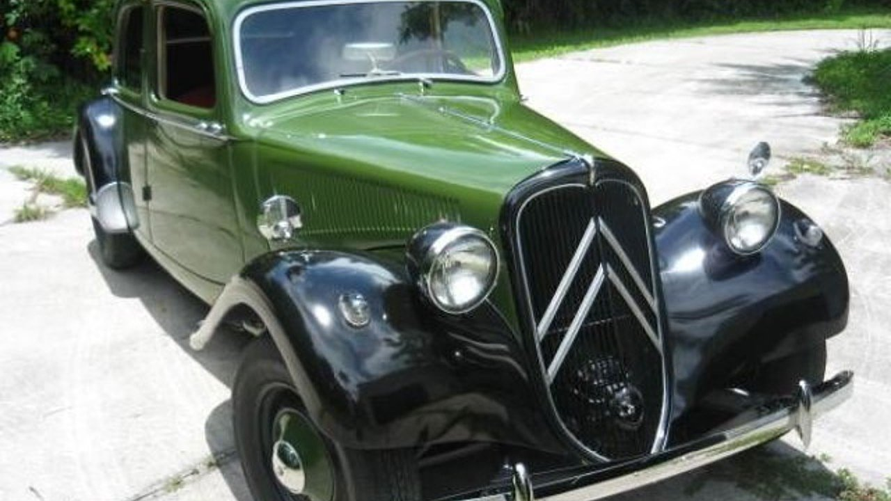1953 citroen traction avant for sale near cadillac michigan 49601 classics on autotrader. Black Bedroom Furniture Sets. Home Design Ideas
