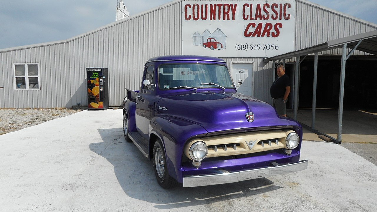 1953 Ford F100 Classics For Sale On Autotrader 1948 Panel Truck 100887441