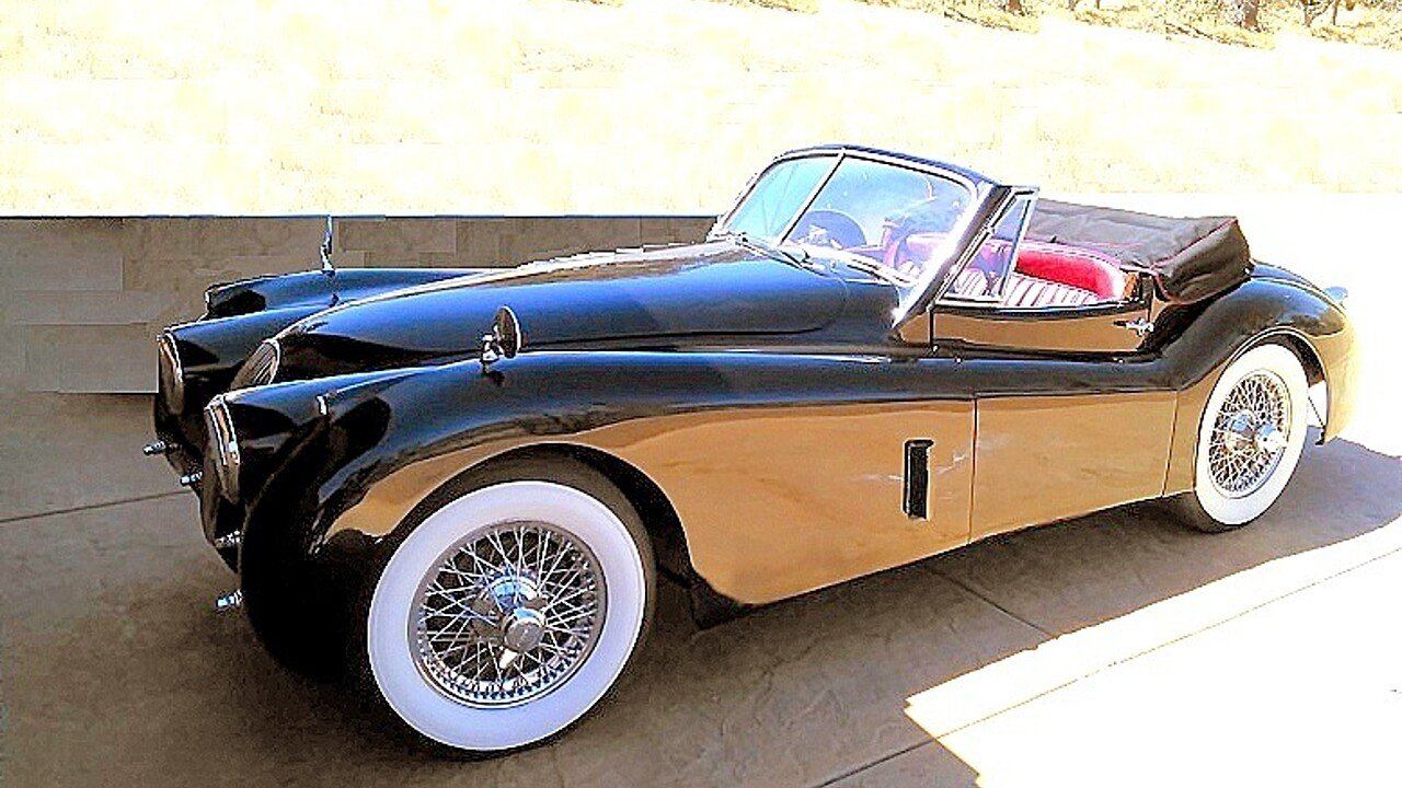 1953 jaguar xk 120 for sale near tehachapi california. Black Bedroom Furniture Sets. Home Design Ideas