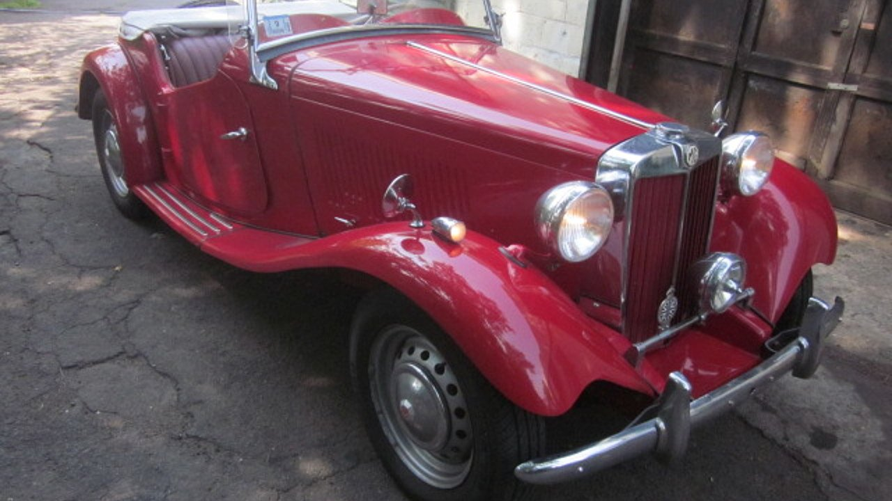 1953 MG MG-TD for sale near Stratford, Connecticut 06615 ...