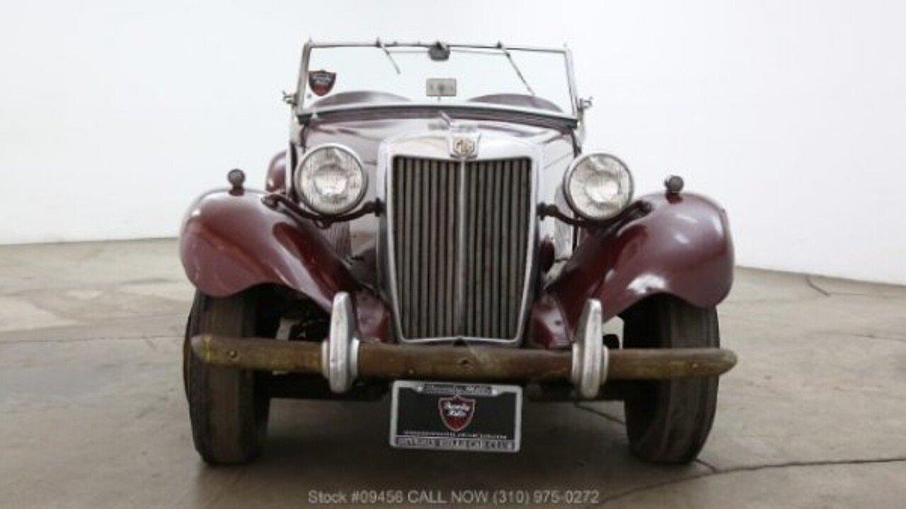 1953 MG MG-TD for sale near Los Angeles, California 90063 - Classics ...
