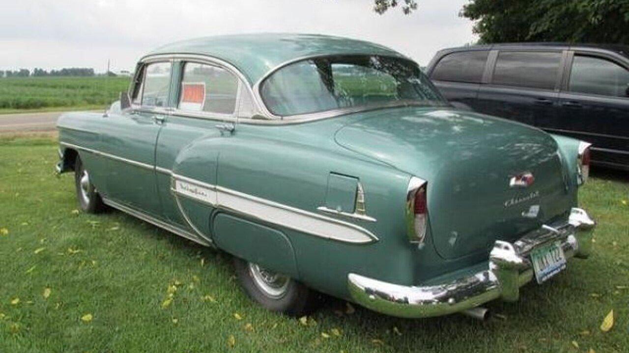 1954 Chevrolet Bel Air For Sale Near Cadillac Michigan 49601 100824082