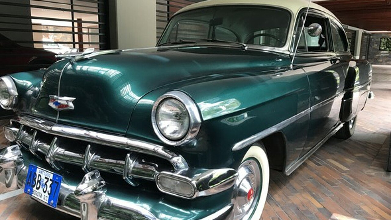 1954 Chevrolet Bel Air For Sale Near Woodland Hills California 4 Door 100928969