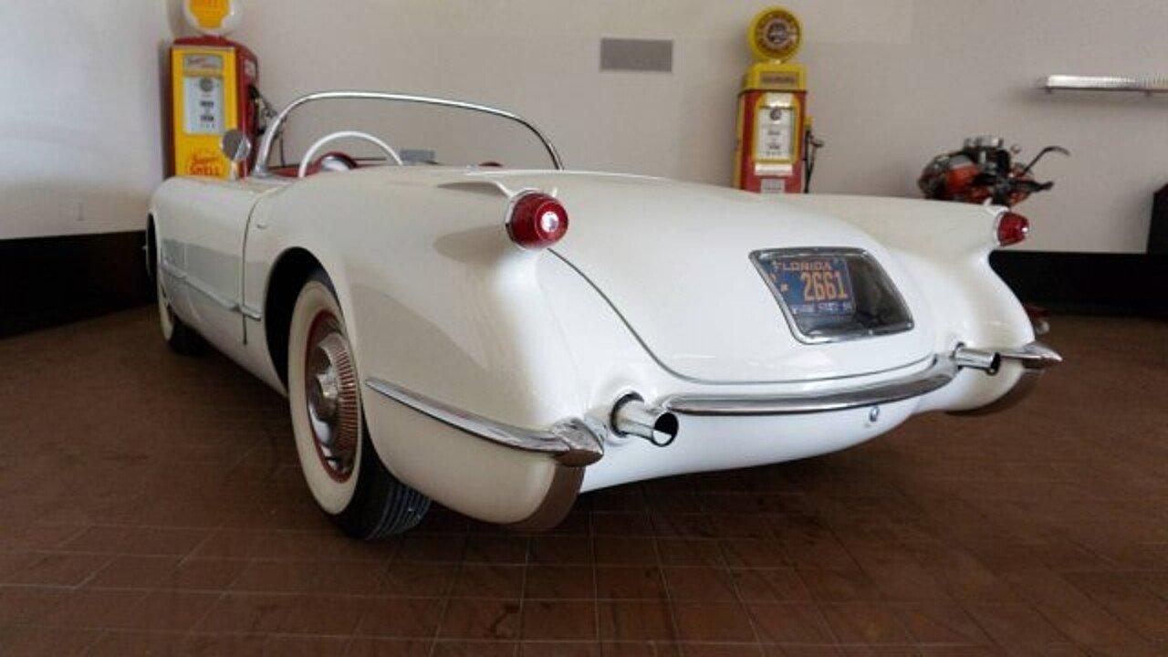1954 Chevrolet Corvette For Sale Near Biloxi Mississippi 39531 Chevy Stingray 101022669